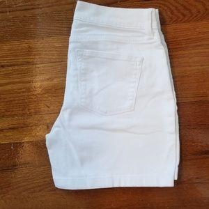 Lauren Ralph Lauren Shorts - Lauren Ralph Lauren White Jean Short